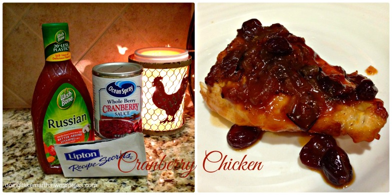 cranberry chicken done