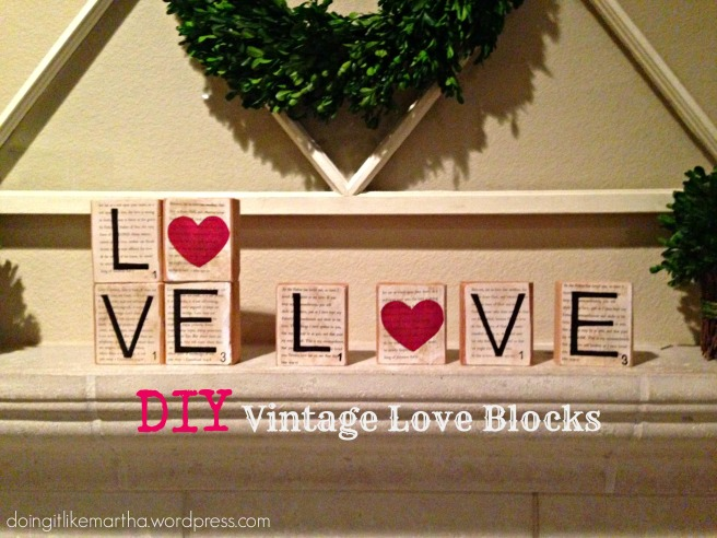 Vintage Love Blocks